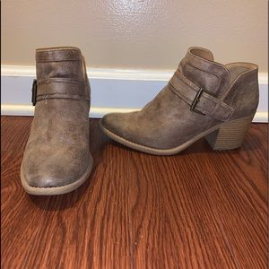 Qupid Shoes - Qupid Tan Booties 8
